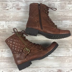 G BY GUESS | Balmy Combat Boots